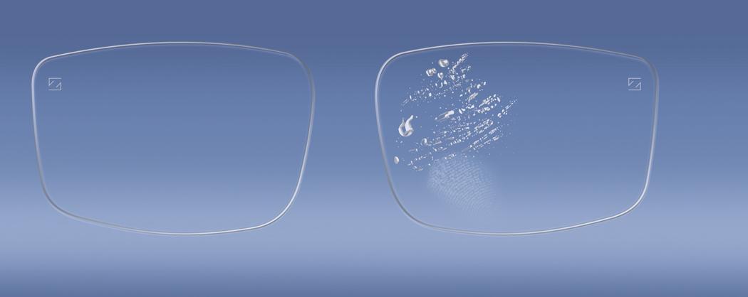 Kombinationsbehandlat glas